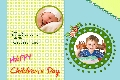 Family photo templates Children's Day