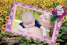 Baby & Kids photo templates Colorful Season