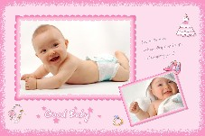 Baby & Kids photo templates Good Baby