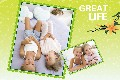 Baby & Kids photo templates Great Life in Spring