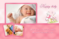 Baby & Kids photo templates Happy Baby Album
