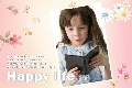 Baby & Kids photo templates Happy Life Flowers