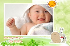 Baby & Kids photo templates Happy with You