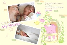 Baby & Kids photo templates Little Bear