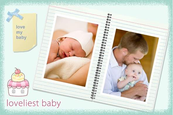 Baby U0026 Kids Photo Templates Lovely Baby Album  Free Album Templates