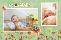 Family photo templates Lovely Baby Album