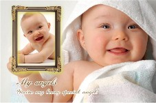 Baby & Kids photo templates My Angel