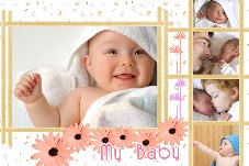 Baby & Kids photo templates My Baby Album 2