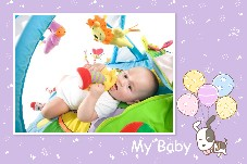 Baby & Kids photo templates My Baby Album 3