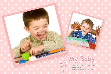 Baby & Kids photo templates My Lovely Baby