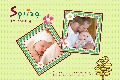 Baby & Kids photo templates Spring