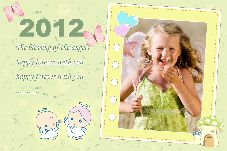 Baby & Kids photo templates Angel Calendar