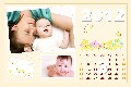 All Templates photo templates Baby Calendar-3