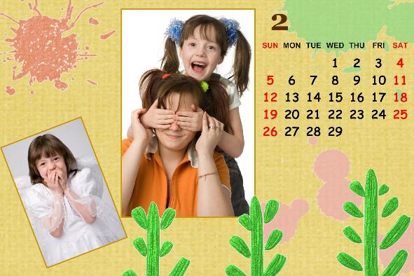 All Templates photo templates Baby Calendar-4