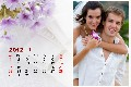 Love & Romantic photo templates Loving Calendar-1