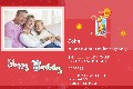 Family photo templates Birthday Party Invitations (1)