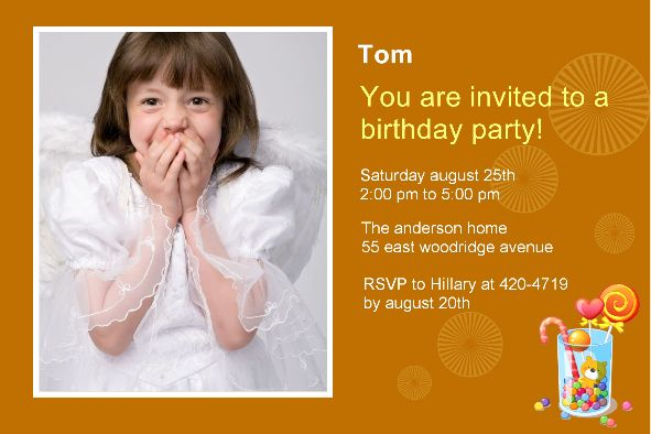 free download for birthday invitations