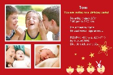 Birthday & Holiday photo templates Birthday Party Invitations (2)
