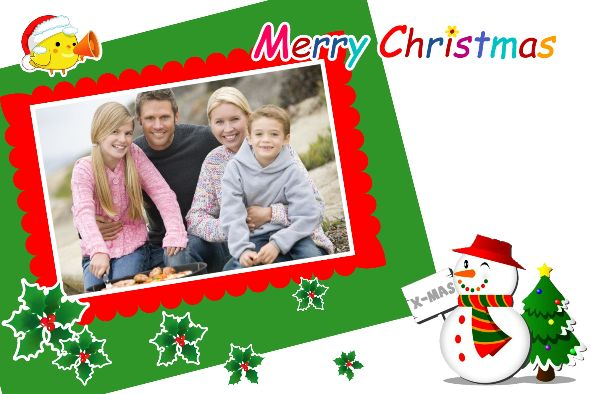 Christmas Card Template For Photoshop Templates Christmas Cards