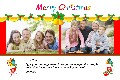 Birthday & Holiday photo templates Christmas Cards-Cute