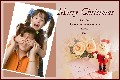 Birthday & Holiday photo templates Christmas Cards-Romantic