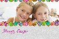 Family photo templates Easter Day Card 1