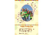 Birthday & Holiday photo templates Easter Day Invitation-3