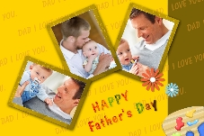 All Templates photo templates Father's Day (3)