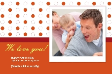 Family photo templates Father's Day