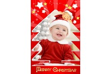 Family photo templates Merry Christmas (4)