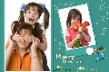 Family photo templates Merry Christmas (5)