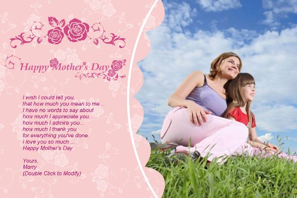 Free Photo Templates Mother S Day 6