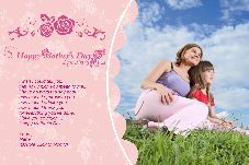 Birthday & Holiday photo templates Mother's Day-6