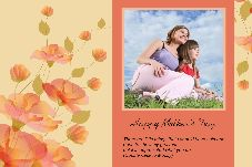 Birthday & Holiday photo templates Mother's Day-7