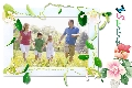 Family photo templates Spring 3
