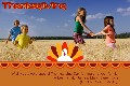 Birthday & Holiday photo templates Thanksgiving Cards-6