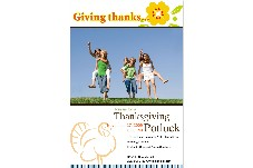 Birthday & Holiday photo templates Thanksgiving Invitations