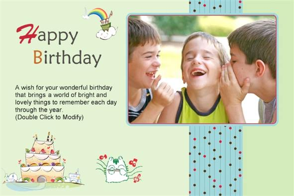 Birthday photoshop template selol ink birthday photoshop template m4hsunfo