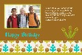 All Templates photo templates Happy Birthday Cards (3) (To Friends)