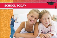 Baby & Kids photo templates School Today