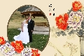 Love & Romantic photo templates Chinese Painting 4