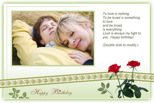 Free photo templates Happy Birthday Cards 2 – Happy Birthday Card Templates Free