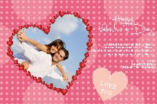 Family photo templates Happy Valentines Day-19