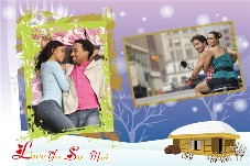 Love & Romantic photo templates Love U So Much