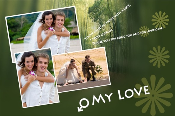 Love & Romantic templates photo templates My Love