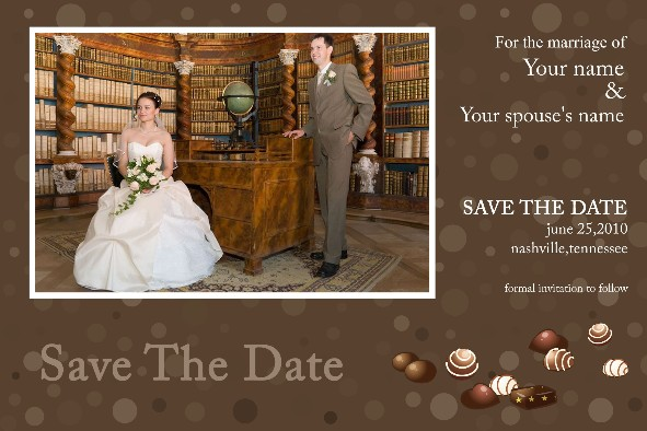 free photo templates - save the date