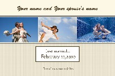 Love & Romantic photo templates Save the Date - 1