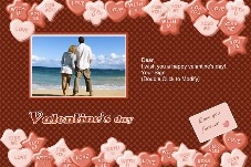 Birthday & Holiday photo templates Valentines Day Cards 10