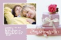 Birthday & Holiday photo templates Valentine's Day Cards 3