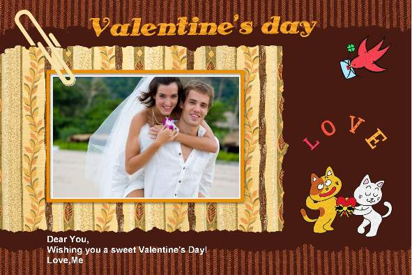 All Templates photo templates Valentines Day Cards (7)